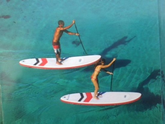Cabo de Palos, สเปน: stand up paddle