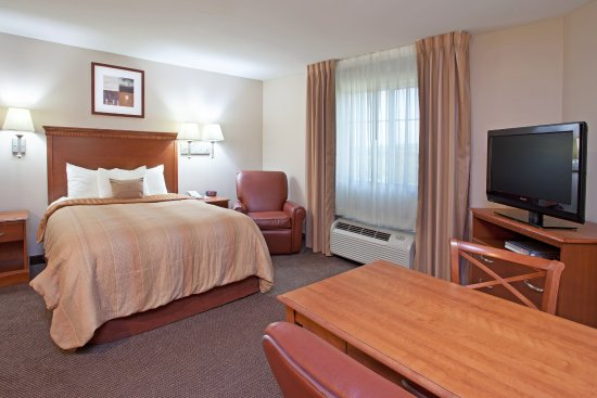 Candlewood Suites Washington North: Single Guest Bed Room