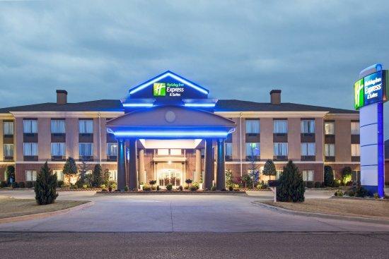 Pauls Valley, OK: Hotel Exterior