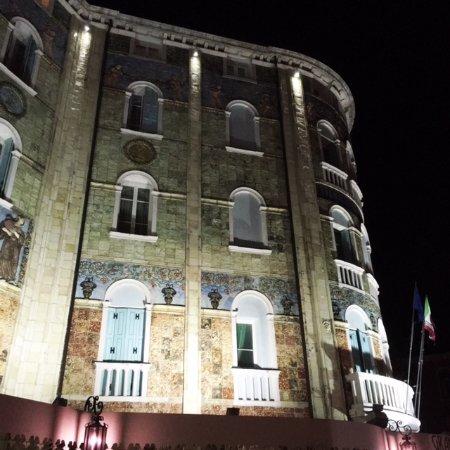 Lido di Venezia, Itália: uitzicht by night