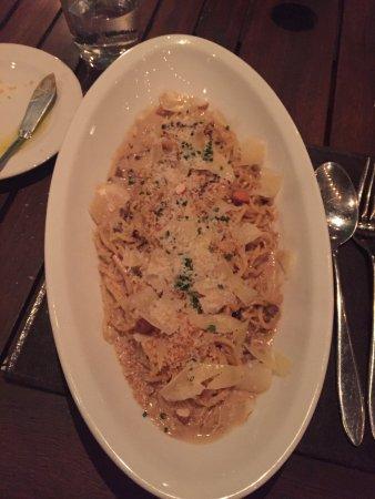 O'Farrell Restaurant: Tagliolini com funghi