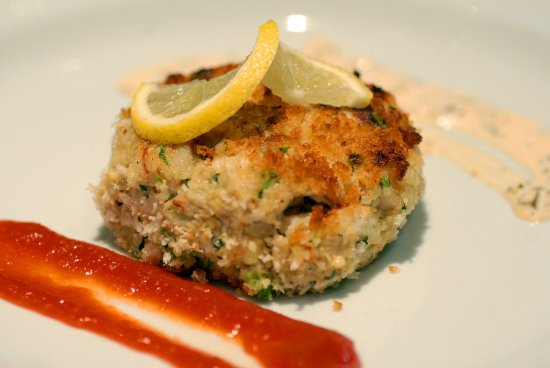 Holiday Inn New Orleans West Bank Tower: Crab Cake