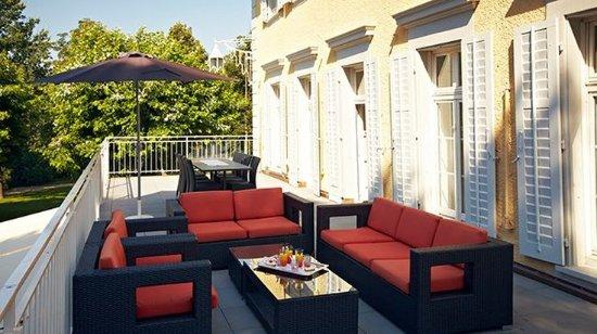 Rheinfelden, Zwitserland: Lounge/Terrace