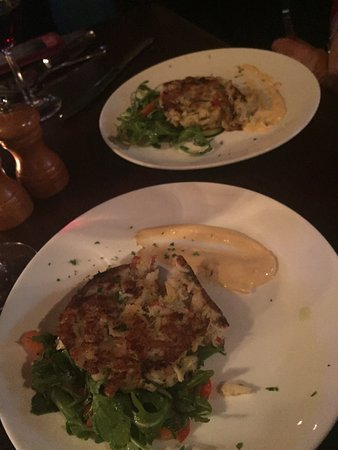 Duluth, GA: Bacon wrapped dates app, crab cakes, beef Wellington