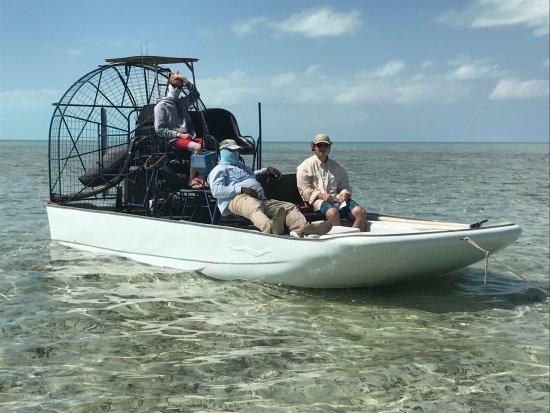 South Caicos: bone fishing