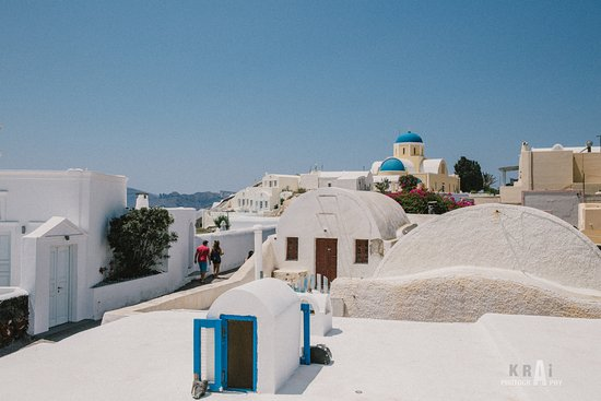 Alexander's Boutique Hotel of Oia: Look around and see beautiful landscapes.
