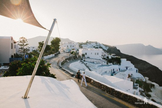 Alexander's Boutique Hotel of Oia: Yeah, this morening view.
