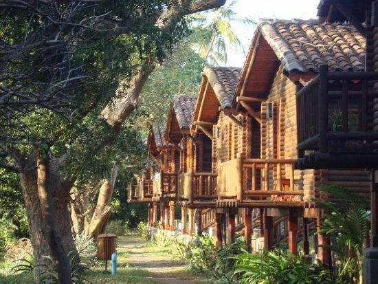 Altagracia, Nicaragua: Bungalow visti da dietro
