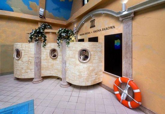 Bartoszyce, بولندا: Sauna entrances