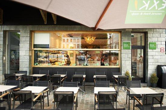 Exki place du luxembourg bruxelles restaurant avis - La cuisine rapide luxembourg ...