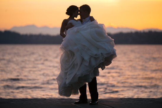 Kirkland, WA: Woodmark Hotel_Weddings_Sunset