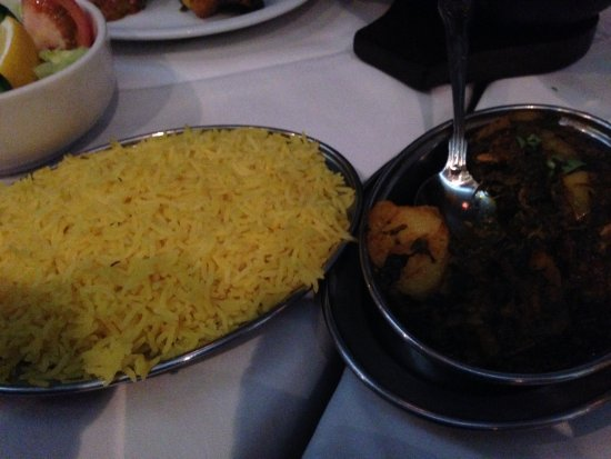 Barton-upon-Humber, UK: Rice & Bombay Potato