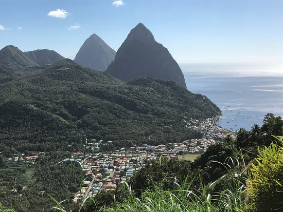 ‪‪Cap Estate‬, سانت لوسيا: The beautiful island of St. Lucia - Gros and Petit Pitons‬
