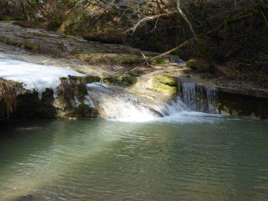 Nantua, Prancis: Cascade du Pain de Sucre
