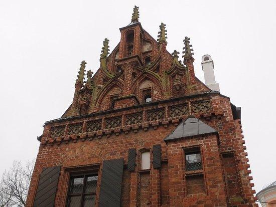 Perkuno House : ゴシック建築だそうで…