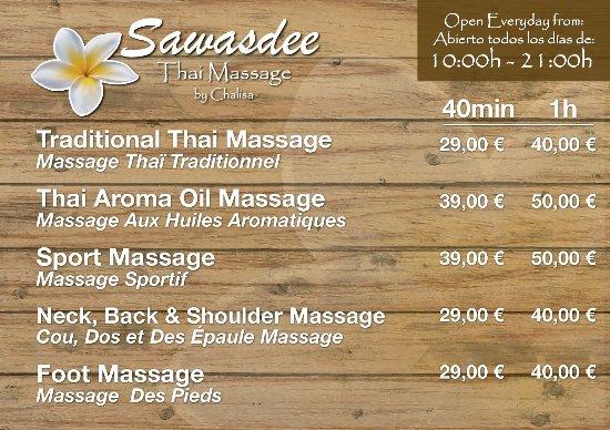 sawasdee thai massage thaimassage hembesök