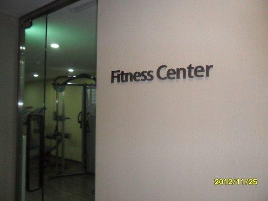 Seongnam, South Korea: Fitness club