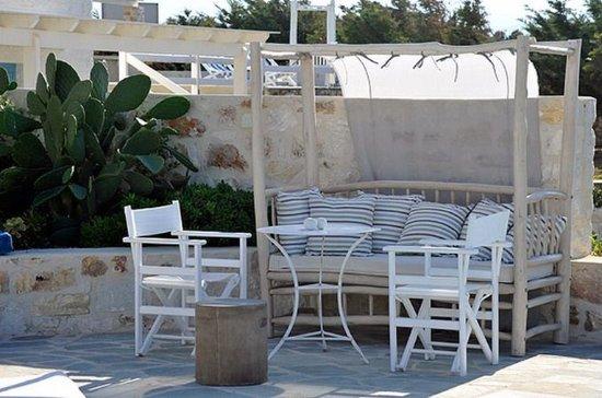 Stagones Luxury Villas: Terrace