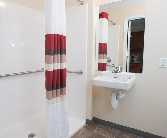 Dickinson, ND: ADA Accessible Bath with Roll-In Shower