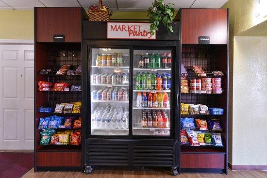 Chambersburg, Пенсильвания: Vending Area