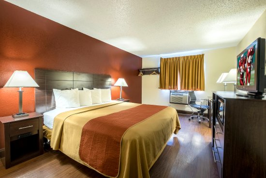 Red Roof Inn Culpeper: Deluxe King
