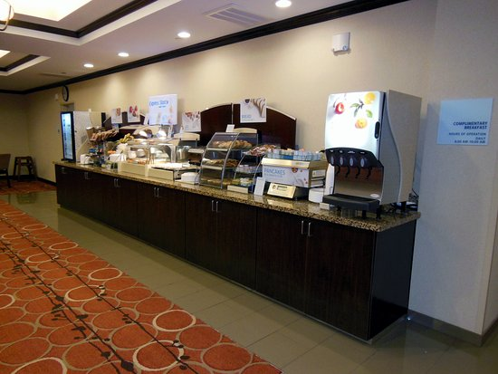 Washington, Pensilvania: Breakfast Area