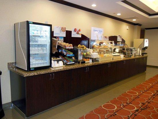 Washington, Pensilvania: Breakfast Bar