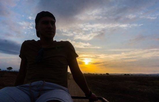 Morogoro, Tanzania: Coucher de soleil
