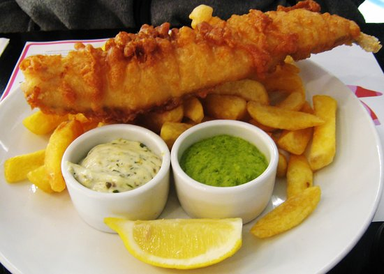Retford, UK: Our Famous Beer Battered Grimsby Haddock