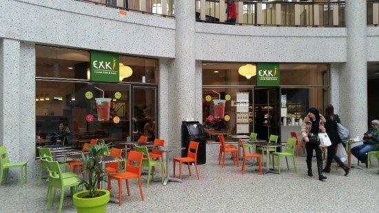 Photo of Modern European Restaurant Exki at Galerie Ravenstein 42, Brussels 1000, Belgium