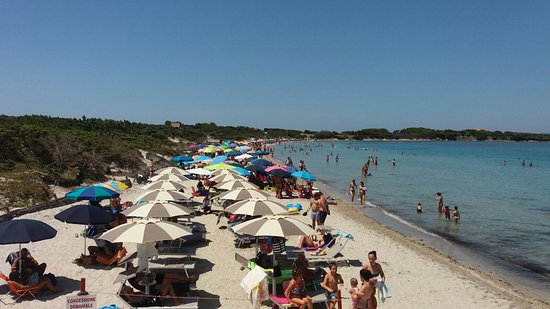 Calasetta, Italia: la Salina spiaggia