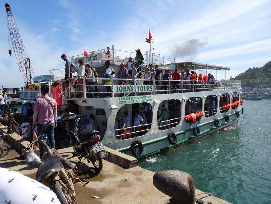 Phu Quoc, Vietnam: ボート