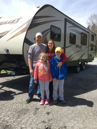 Richfield Springs, NY: Happy campers!