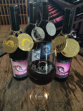 Flagler Beach, FL: Award Winning Wines