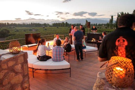 Lujan de Cuyo, Argentina: Terraza del Visitor Center