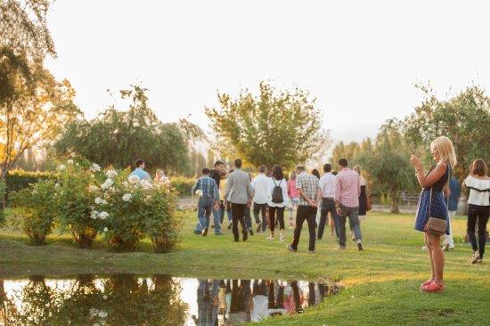 Lujan de Cuyo, Argentina: Tour por nuestros jardines