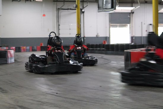 Full Throttle Indoor Karting: Chasing the leader