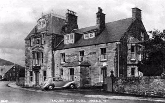 Innerleithen, UK: The Traquair Arms as it looked back in the 50's!