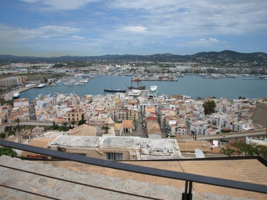 Ibiza town and castle
