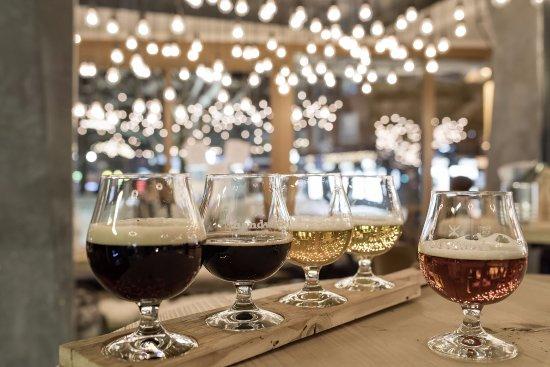 Sonthofen, Niemcy: Unser Bierprobierbrett – der Einstieg in die Welt des craft beer