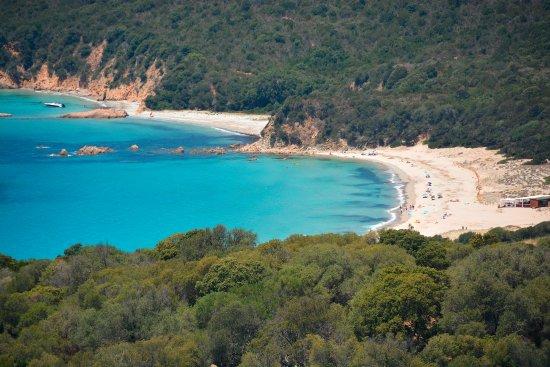 Serra-di-Ferro, Francja: Résidence ALBA ROSSA*** Vue Mer panoramique Baie Cupabia