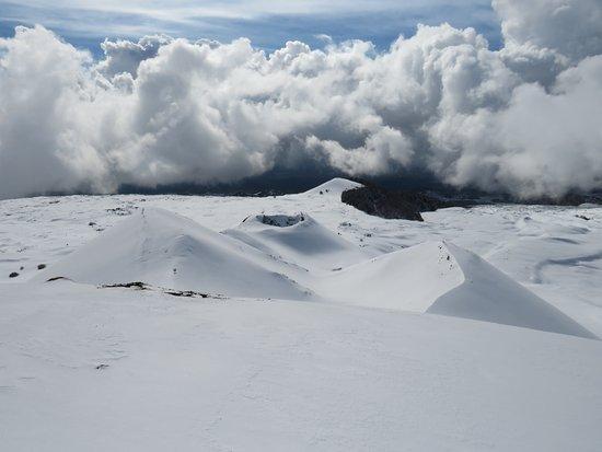Katane Palace Hotel: View op de Etna (2000 meter hoog)