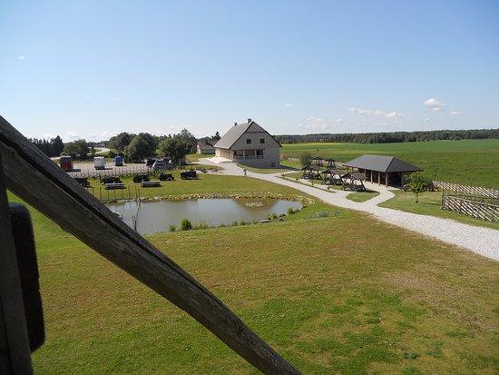 Saaremaa, Estland: Piharakennuksia.