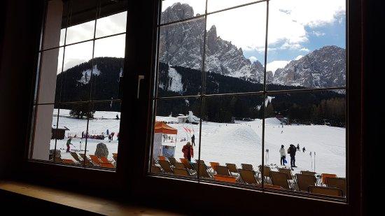 Sporthotel Monte Pana: vista dal bar