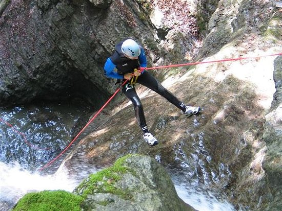Dollar, UK: Abseil down waterfalls as you explore Scotlands canyons!