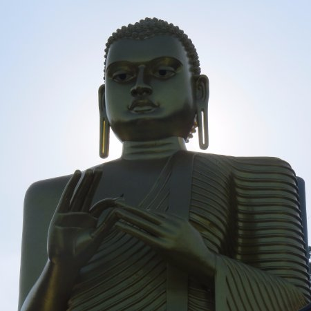 Dambulla, Sri Lanka: The Golden Buddha
