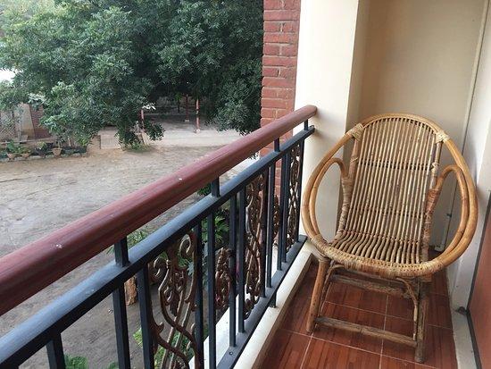 Nyaung U, Myanmar: balcony