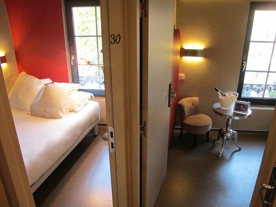 Hotel 7 Art: Chambre Double Palme d'Or avec petit salon