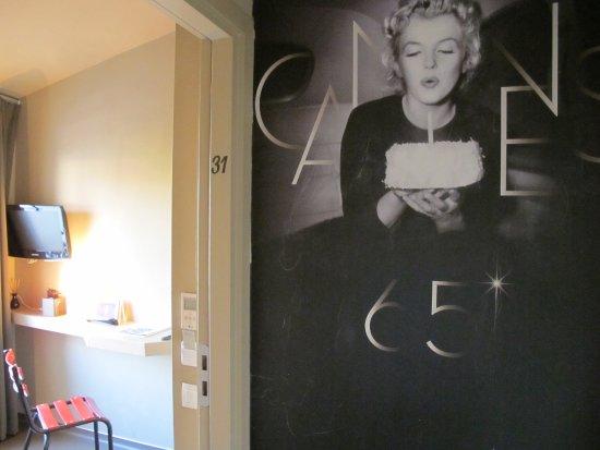 Hotel 7 Art: Le cinéma en theme de décoration
