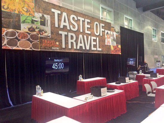 Los Angeles Convention Center: Culinary Fight Club on the Taste of Travel Stage! (2017)